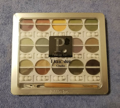 Pebbles Inc Scrapbook Chalk Set Kit EARTH TONES Stamps Crafts Acid Free NEW - $16.95