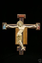 Gothic Crucifixion of Jesus Christ Wall Plate Catholic Statue Sculpture ... - $69.95