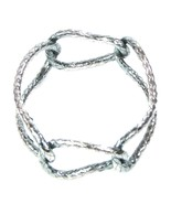 Bottega Veneta Bangle Bracelet Oxidised Silver Size Small Ladies Womens ... - $398.41