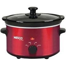 NESCO SC-150R, Oval Slower Cooker, Red, Ceramic, 1.5 quart, 120 watts - $26.74