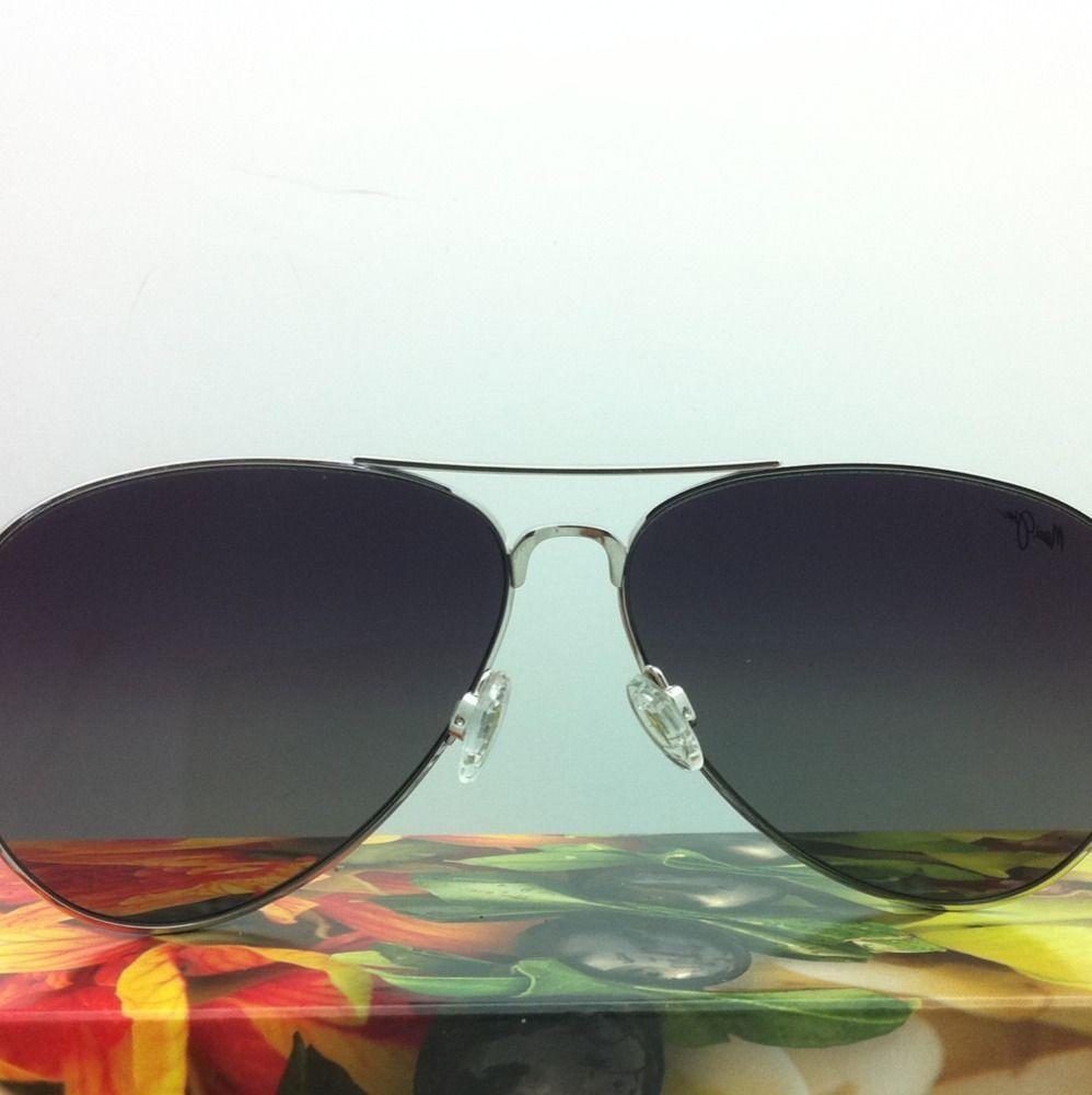 MAUI JIM Titanium Sunglasses MAVERICKS GS 264-17 Silver w/Neutral Grey Polarized image 4