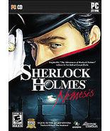 Sherlock Holmes: Nemesis (PC, 2008) - $7.95