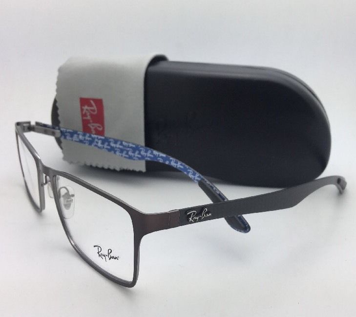 c40560ebeb New RAY-BAN Rx-able Eyeglasses RB 8415 2862 53-17 Brown-Blue w  Carbon Fiber