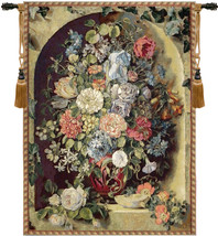 Large Flowers Piece Tapestry Wall Hanging - $201.85