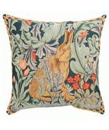 Rabbit As William Morris 3 European Cushion Cover - $74.85+
