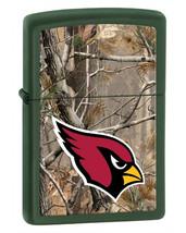 Zippo Camouflaged Arizona Cardinals Green Matte Lighter - $39.85