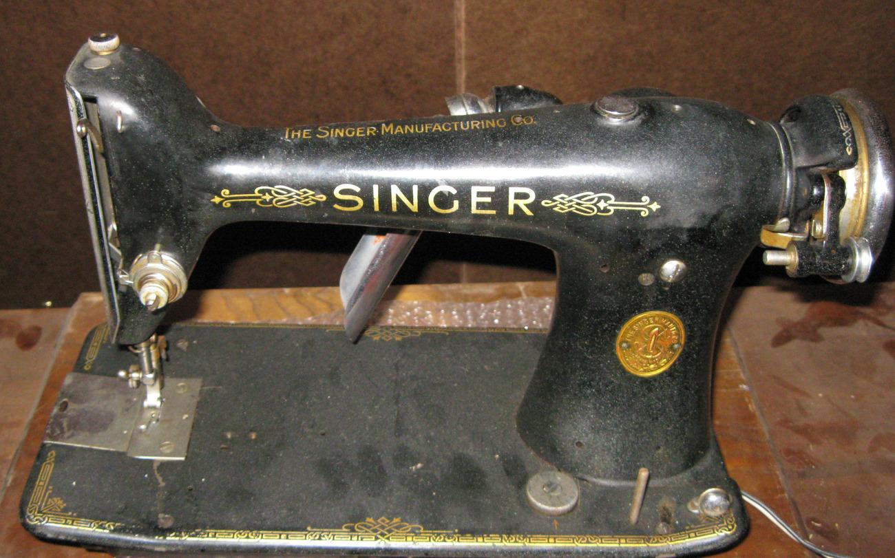 Singer 101 Bed Spool Pin #66608 Screw In Type Vintage 1934 Part