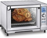 Cuisinart Cooking Rotisserie Convection Toaster Oven Stainless Steel Kitchen