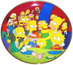 Simpsons Collector Plate Three Eyed Fish Bart L... - $14.97