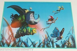 Disney Store A Bugs Life Lithograph Suitable Framing Gold Seal Kids Room... - $49.95