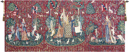 Lady and the Unicorn Series II Tapestry Wall Art Hanging - $1,688.85