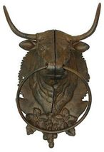 PERFECT GIFT FOR BULLS LOVERS CAST IRON BULL TO... - $49.02
