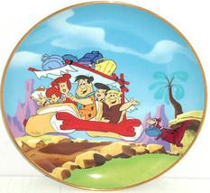 Flintstones Collector Plate Fred Barney Pebbles Wilma  Betty Vintage Franklin  - $59.95