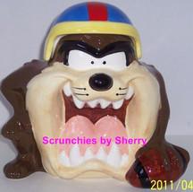 Tasmanian Devil Taz Cookie Jar Looney Tunes Warner Bros Ceramic Cookies New - $129.95
