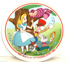 Disney Alice In Wonderland 30th Anniverary Collector Plate Schmid LE 7,5... - $69.95