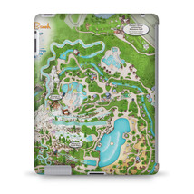 Blizzard Beach Map Disney Tablet Hard Shell Case - $24.99+