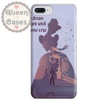 Cinderella Disney The dream that you wish will come true Quote Phone Har... - $22.99+
