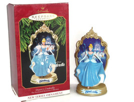 Disney Cinderella Princess Hallmark Ornament Enchanted Memories 1997  - $34.95