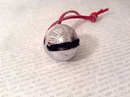 I Believe Real Silver Polar Reindeer Sleigh Bell Express Direct From Elves wi... image 3