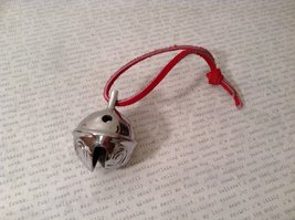 I Believe Real Silver Polar Reindeer Sleigh Bell Express Direct From Elves wi... image 4