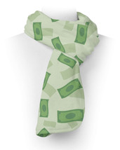 Dollar Bills Fleece Scarf - $618,34 MXN+