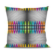 Rainbow Crayons Fleece Cushion - $24.99 - $41.99