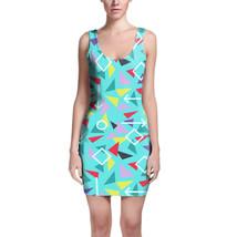 Mint Memphis Pattern Bodycon Dress - $32.99+
