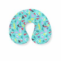 Mint Memphis Pattern Travel Neck Pillow - €16,35 EUR