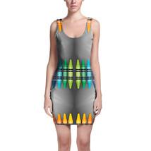 Rainbow Crayons Bodycon Dress - $32.99+