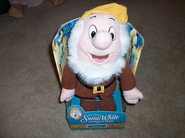 Disney's Snow White Plush doll SNEEZY, 1992 Mattel; New in Original Box;... - $6.95