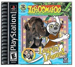 Zoboomafoo Leapin' Lemurs! PS1 Great Condition - $9.93