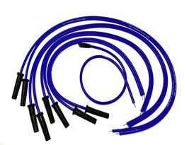 9.5mm Blue Silicone High Performance Spark Plug Wire Set Universal Fit V8 V6 image 4