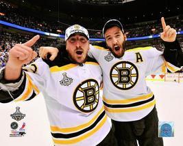 Brad Marchand Patrice Bergeron 2011 Celebration Bruins 8X10 Color Hockey... - $4.99