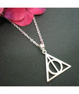 Deathly Hallows Triangle Necklace Pendant - $35.00