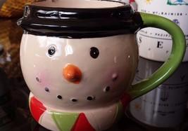 Snowman Ceramic Coffee Tea Mug Cup Christmas Decor - $17.16