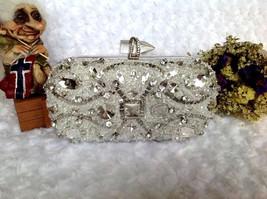 Diamond Beading Evening Clutch Bag Wedding Evening Bags clutch purse - $99.99+