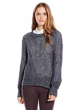 Sanctuary All Day Pullover Sweater, Color Marine, Size Small - $25.49
