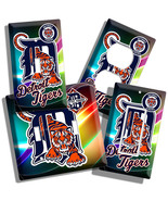 DETROIT TIGERS MLB BASEBALL LOGO LIGHT SWITCH O... - $8.99 - $19.79