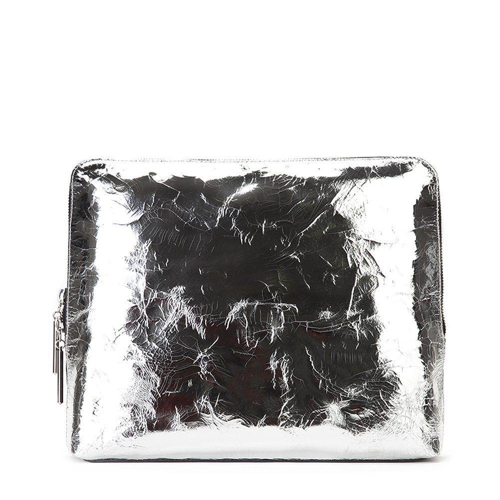 3.1 Phillip Lim Women's Medium 31 Minute Bag AH15-0082CKM Silver/Black