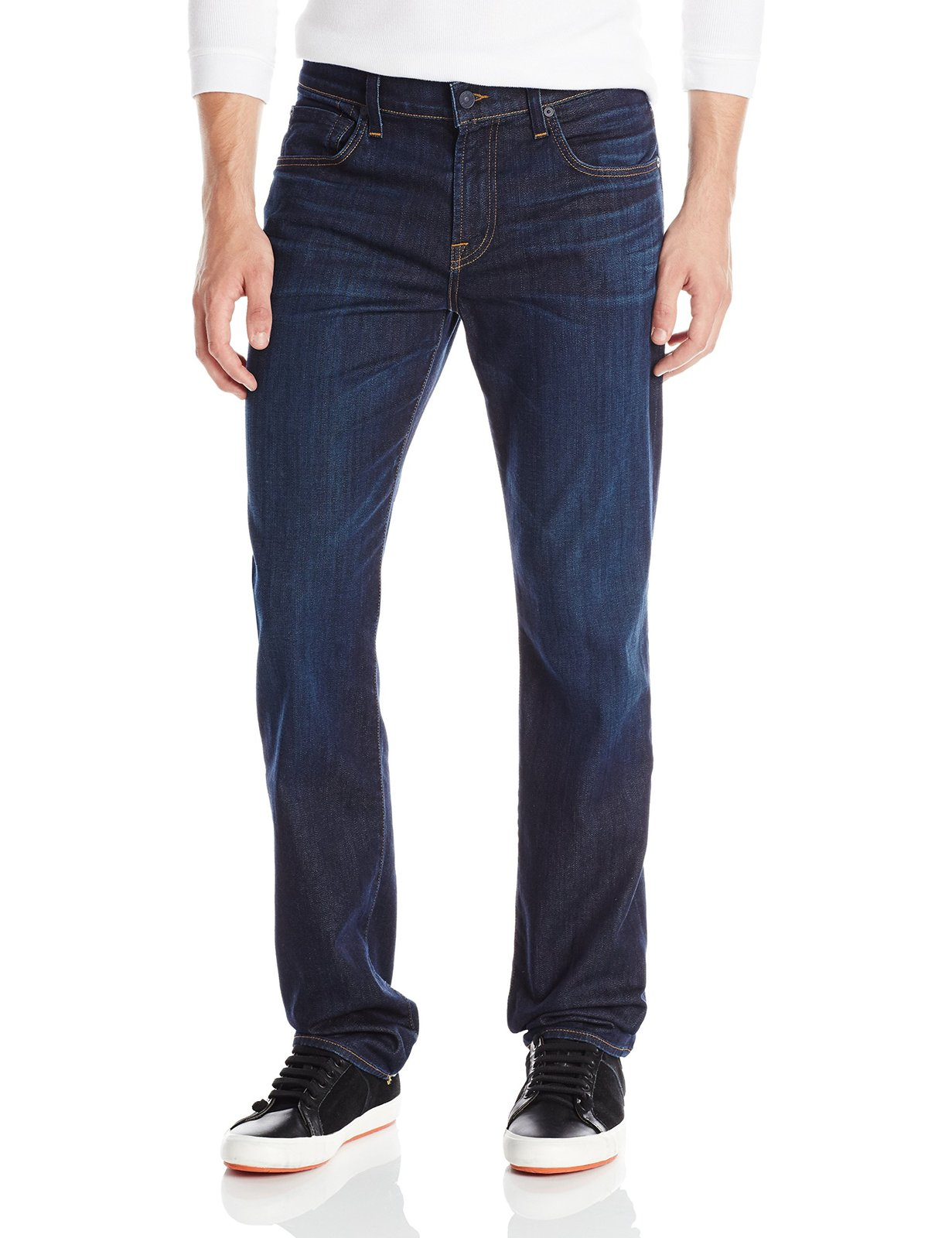7 For All Mankind Men's Modern Straight-Leg Luxe Performance Jean, North Paci...