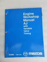 2002 Mazda AJ Engine Variable Valve Timing Service Repair Manual OEM Fac... - $2.76