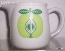 SCANDINAVIAN(FINNISH) MODERN-ARABIA POMONA APPLE CREAMER - $49.95