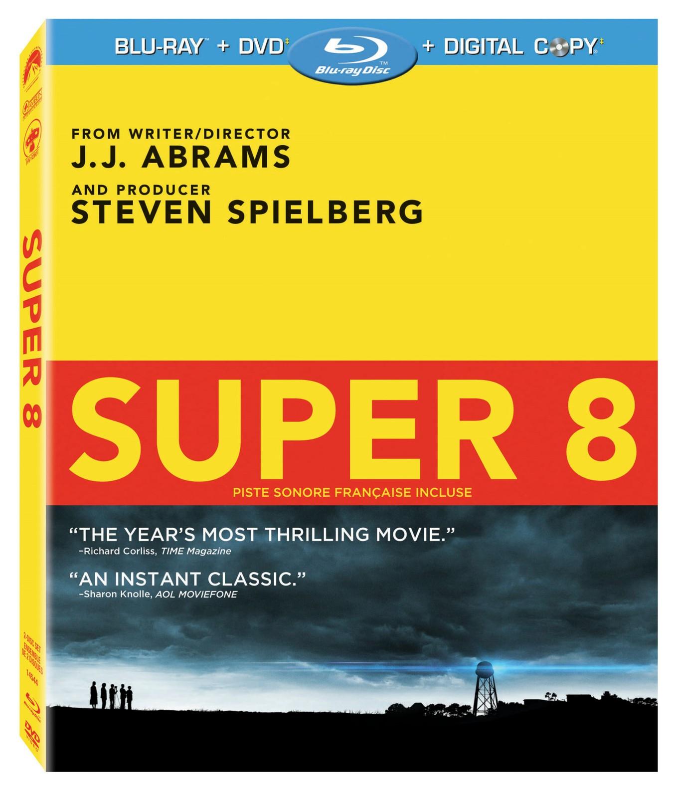 Super 8 blu ray