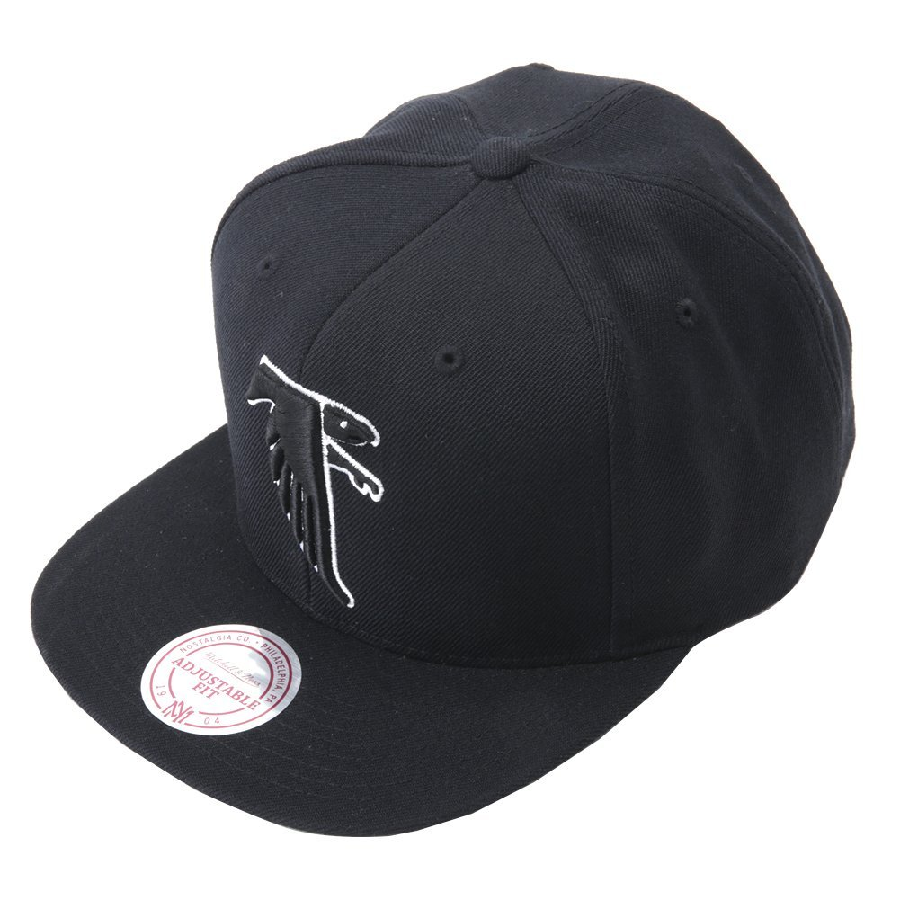 Mitchell & Ness Wool Solid Snap - MNNFL FALCO NZ978TPCA6FALCO Black One Size