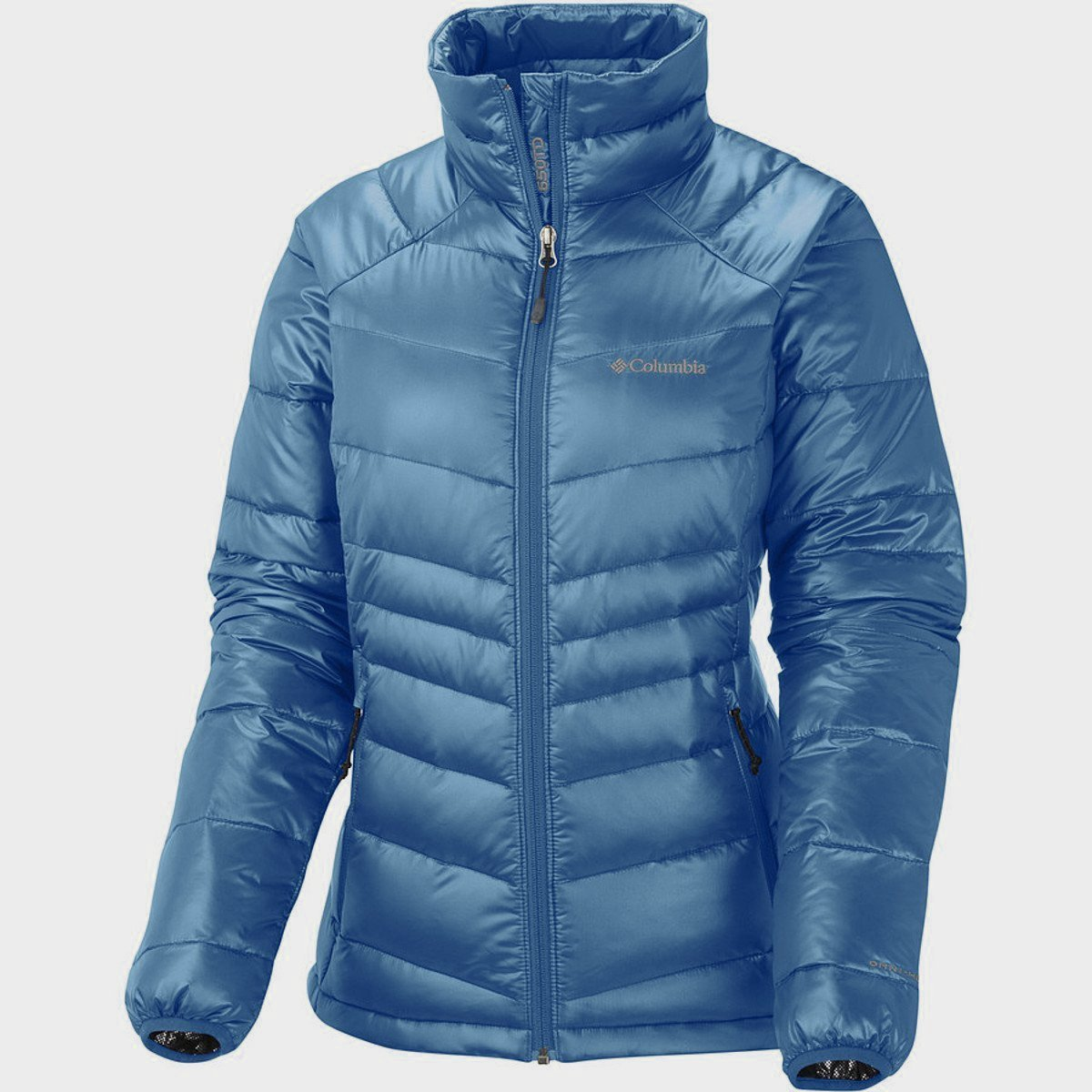 Columbia Women's Gold 650 TurboDown Radial Down Jacket, X-Small, Bluebell