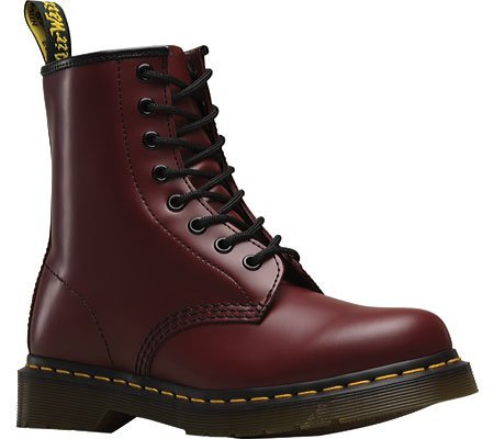 Dr. Martens 1460 Originals 8 Eye Lace Up Boot,Cherry Red Rouge Leather,5 UK (...