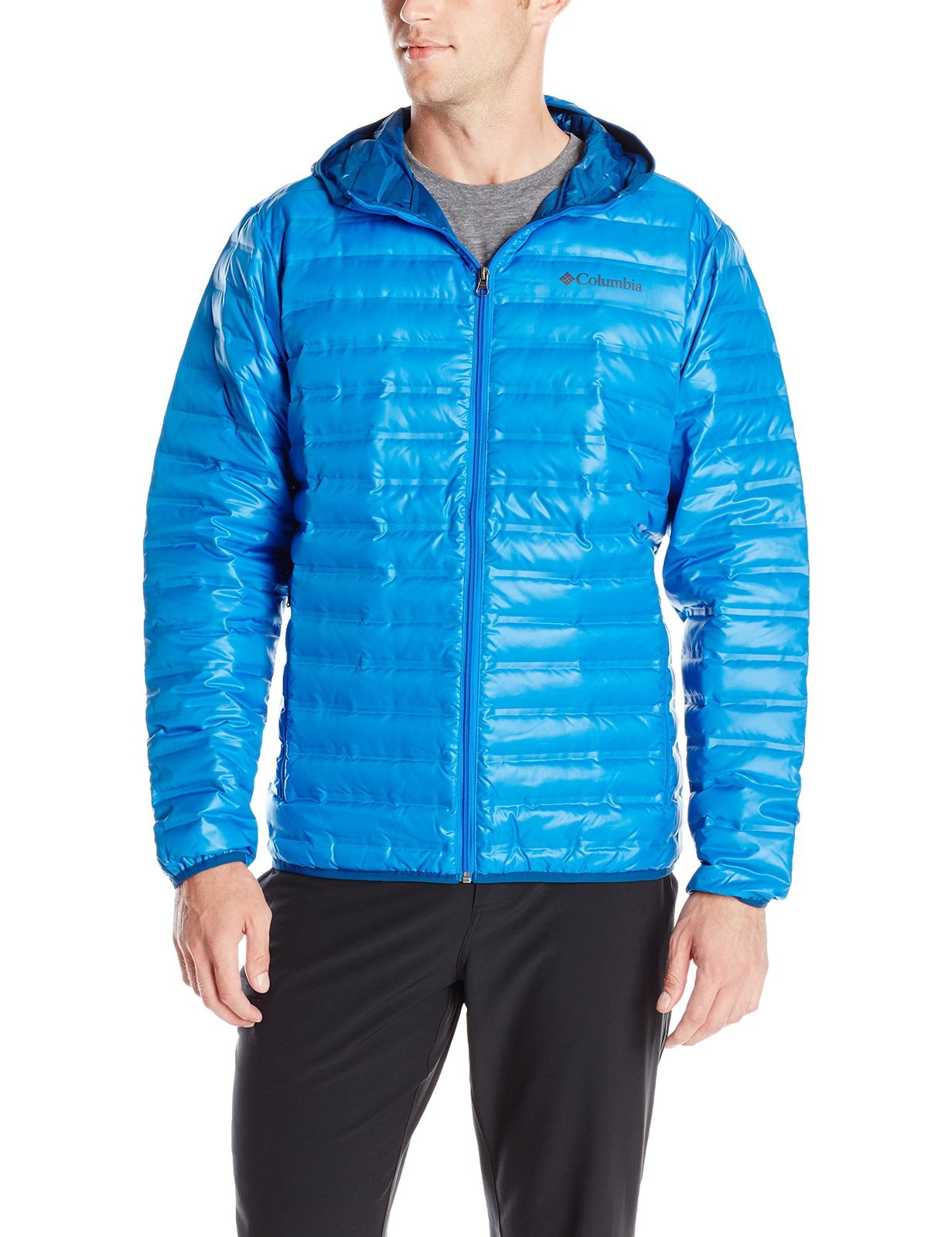 Columbia Sportswear Men's Flash Forward Down HDD Jacket, Hyper Blue, Medium