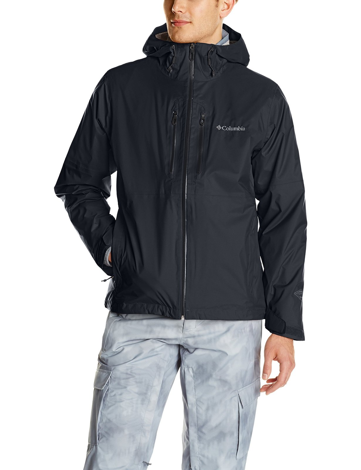 Columbia Men's Northwest Traveler Interchange Jacket, Black, Large