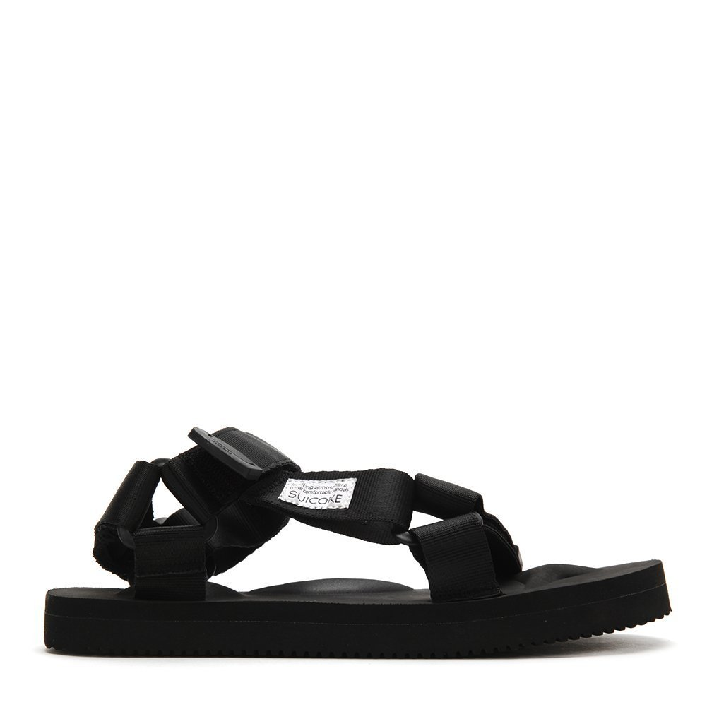 Suicoke Men's Summer DEPA Sandals OG-022 Black SZ 6