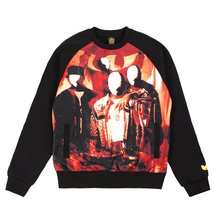 Wu-Tang Men's Disciples Crewneck Shirt 45WU0103 Black SZ L - $78.13
